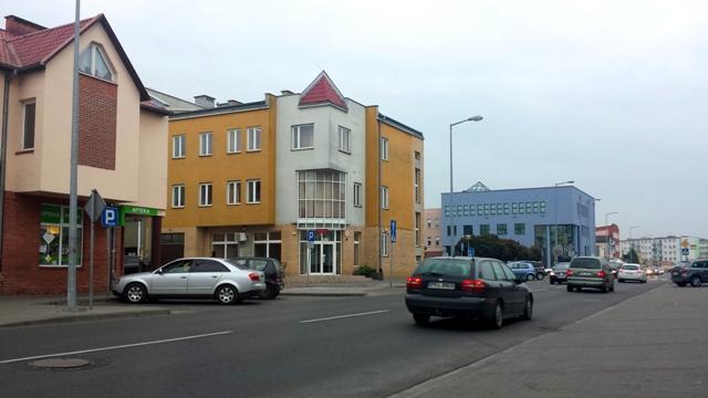 centrum miasta Koło