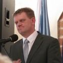 Burmistrz Miasta Koła Mieczysław Drożdżewski