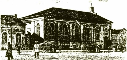 Nie istniejąca synagoga w Kole