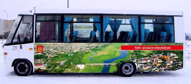 autobus miejski w Kole