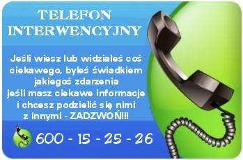 telefon interwencyjny